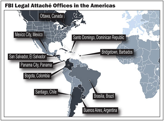 FBI in the Americas...