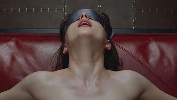 Imagen del trailer de Cincuenta sombras de Grey...