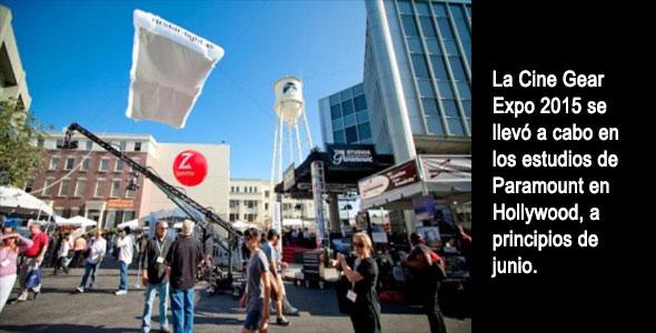 Cine Gear Expo en los estudios de Paramount.