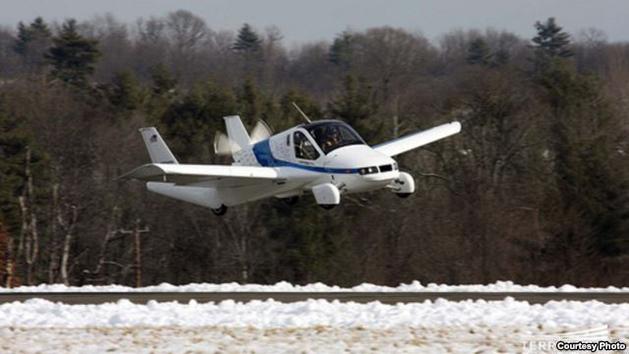 Auto Volador, modelo Transition