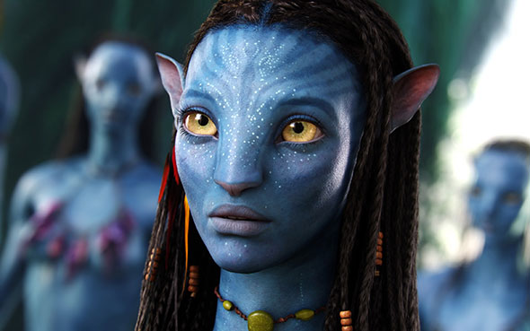 Escena de la película Avatar.
