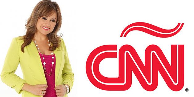 Elizabeth Espinosa, conductora de Sin Limites, de CNN Latino