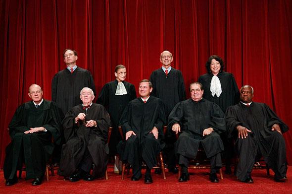 Corte Suprema de Justicia de Estados Unidos...