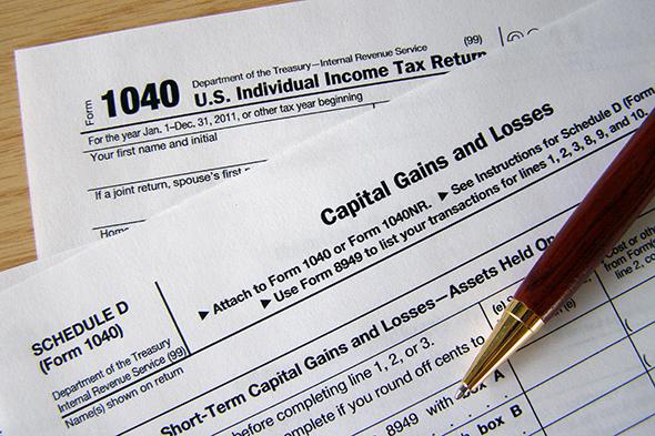 Formulario de declaración de impuestos...