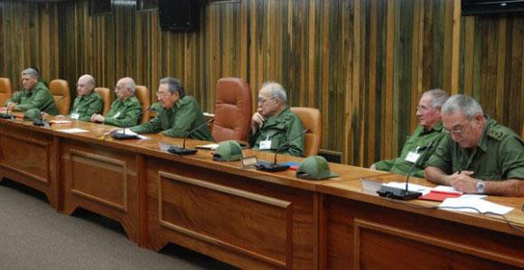Dirigentes comunistas cubanos...