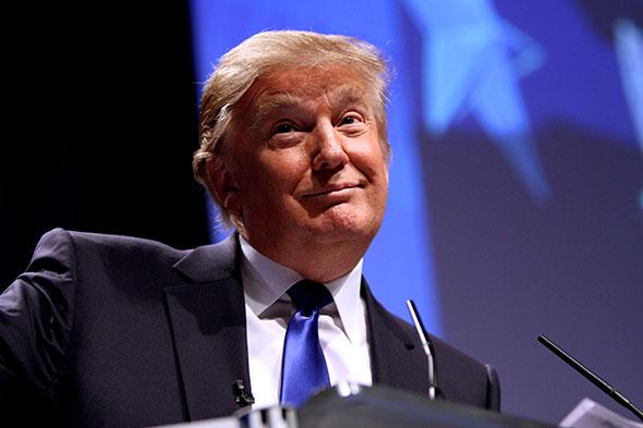 Magnate inmobiliario Donald Trump...