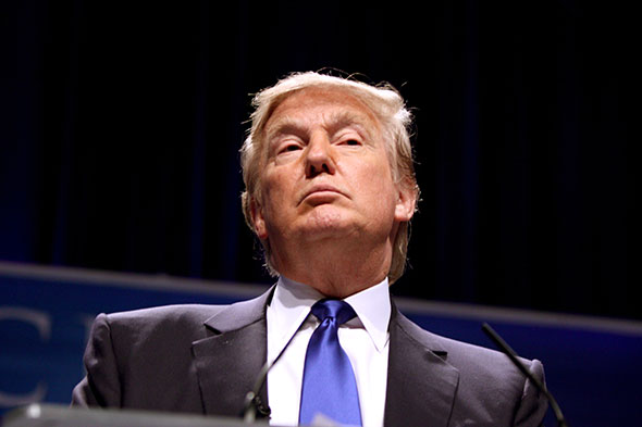Donald Trump, precandidato republicano...