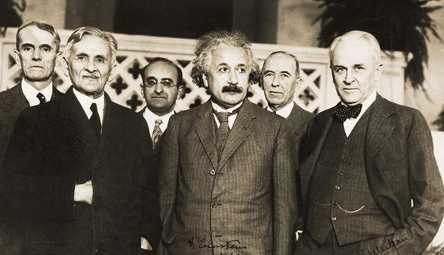 Albert Einstein en Caltech