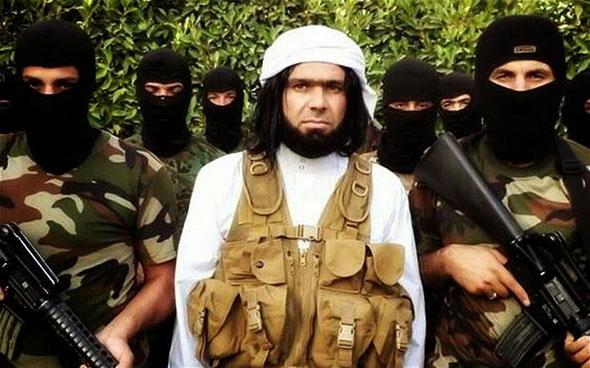 Verdugos del grupo terrorista Estado Islámico.