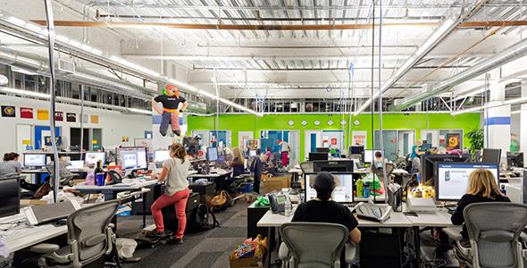 Oficinas de Facebook en Menlo Park, California