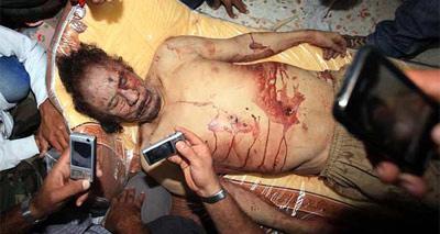 Gadafi muerto