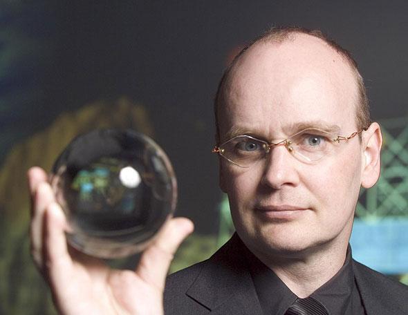 El futurólogo Ian Pearson...