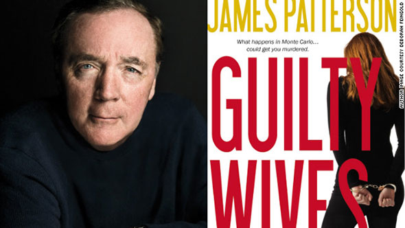 El escritor norteamericano James Patterson.