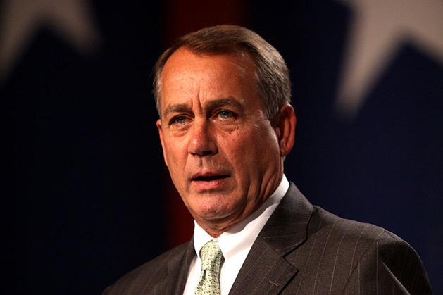 El presidente de la Cámara de Representantes John Boehner