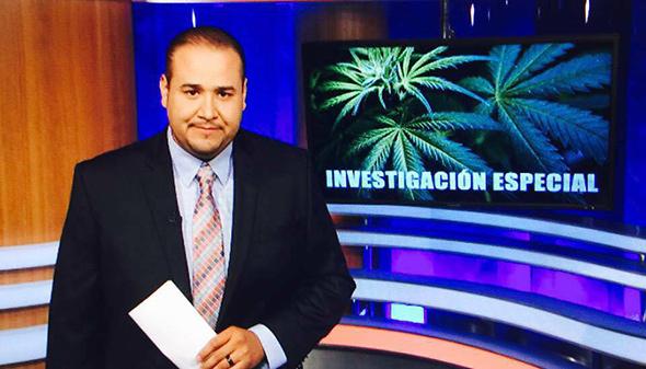 Jovanny Rivera Huerta, reportero Estrella TV y ganador del Golden Mike