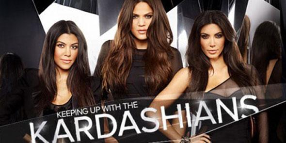 Las hermanas Kardashian, Kim a la derecha.