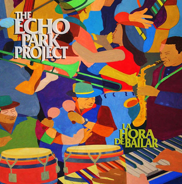Cartel del Echo Park Project...