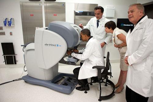 Obama en Clinica
