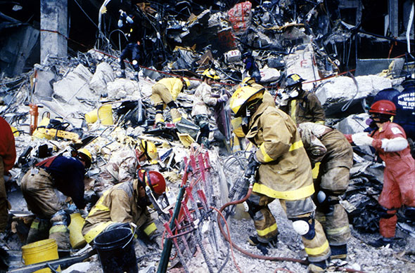 Explosión en el Edificio Federal de Oklahoma City en 1995...