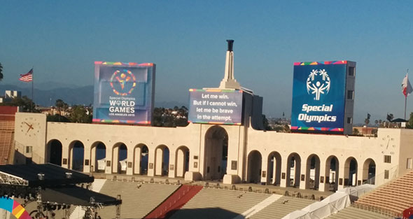 Olimpiadas Especiales 2015 en Los Angeles