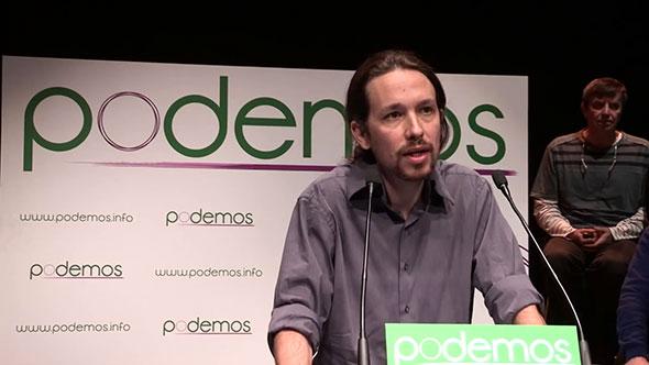 Pablo Iglesias, líder del movimiento español Podemos.