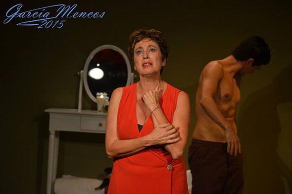 Escena de la obra teatral Pastel...