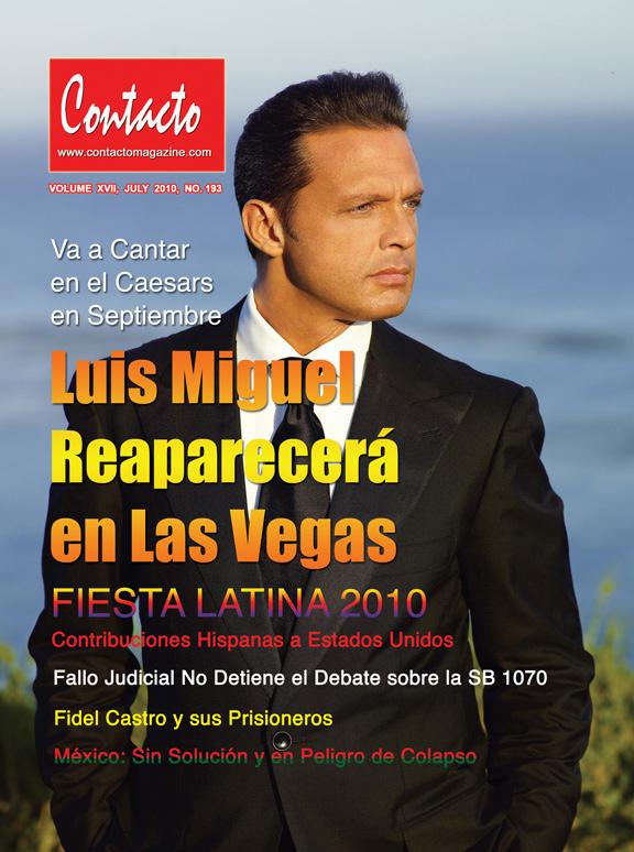 Portada de Contacto Magazine