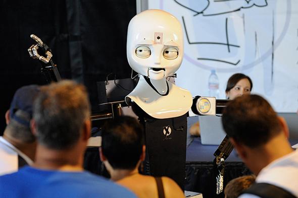 Octavia, robot de la Marina de Estados Unidos...