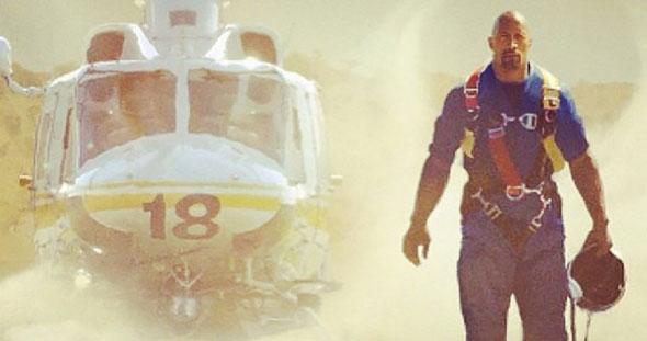 Dwayne Johnson en San Andreas