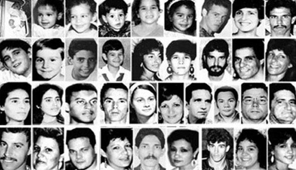 """Víctimas de la masacre cubana del remolcador """"13 de Marzo"""""""