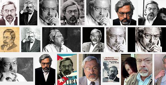 Fotos diversas de Guillermo Cabrera Infante en Google Images...