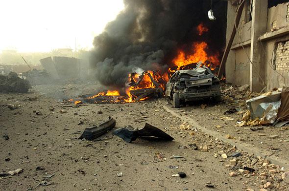 Auto bomba en Irak...