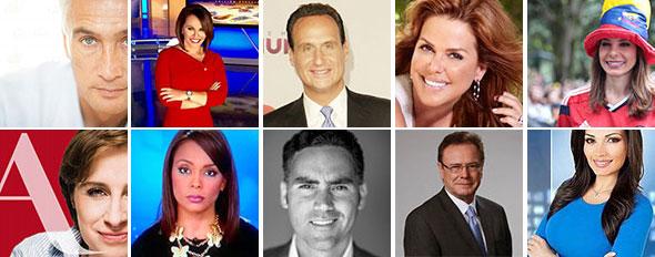 Conductores de la TV en español de EE.UU.