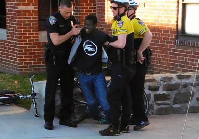 Arresto de Freddie Gray...