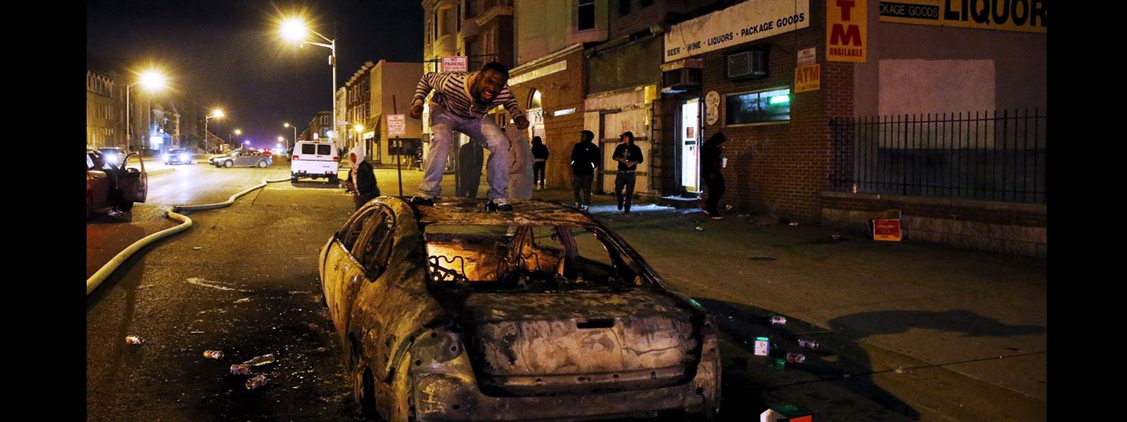 Violencia en las calles...