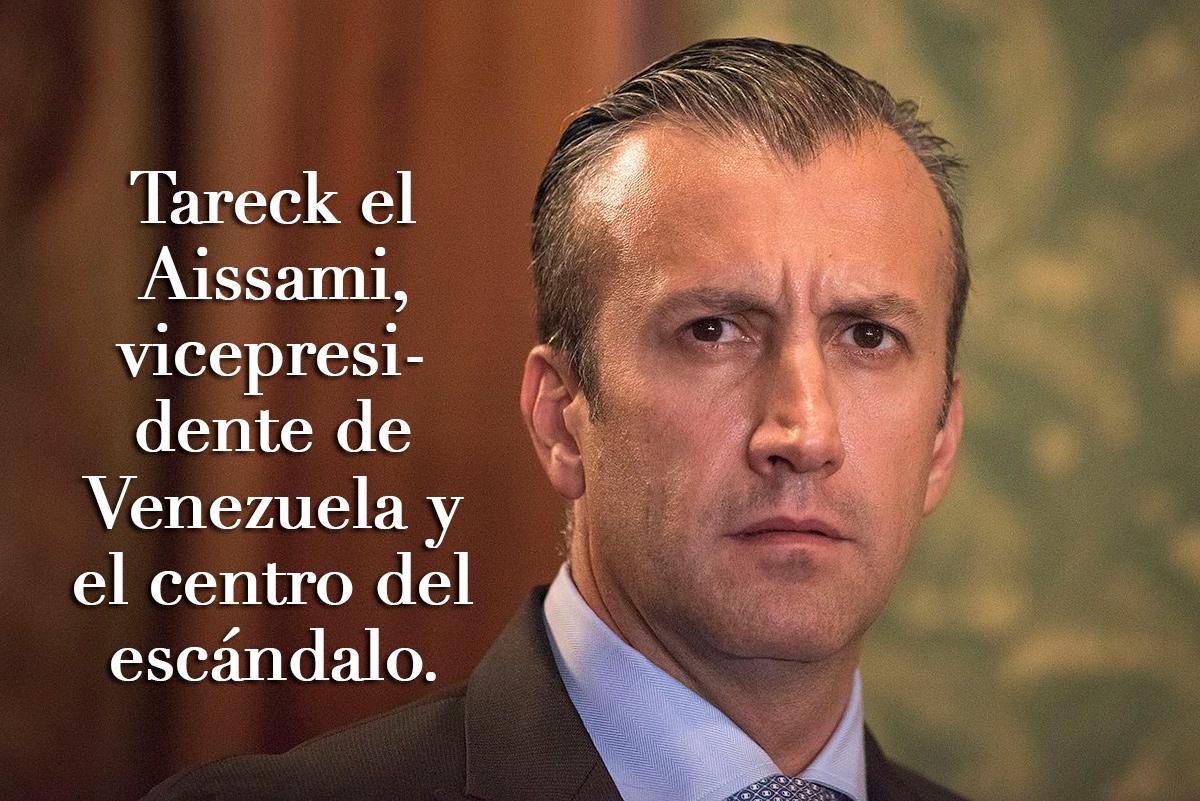 Tareck el Aissami, vicepresidente de Venezuela.