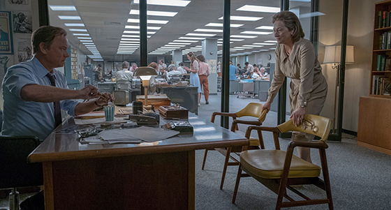 Tom Hanks y Meryl Streep en The Post.