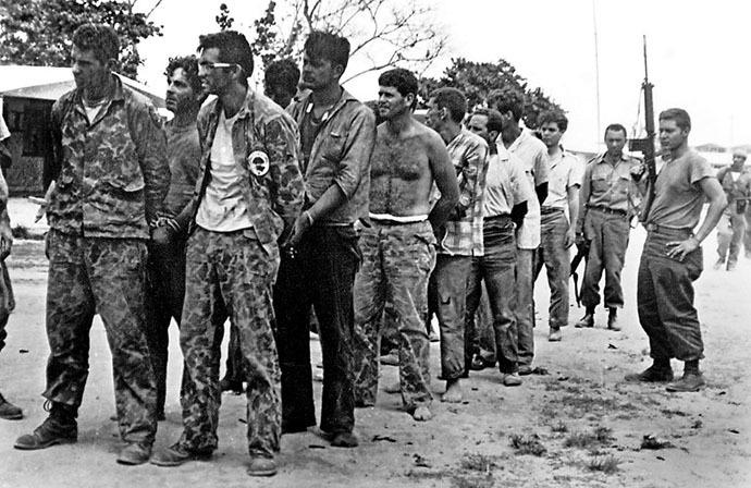 Brigadistas prisioneros
