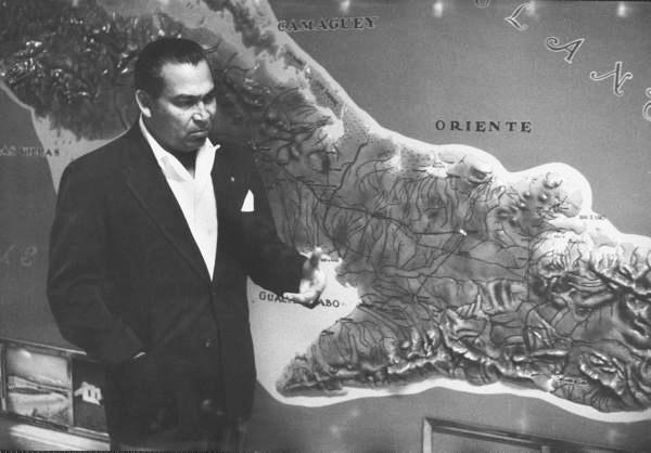 Fulgencio Batista en marzo de 1957...