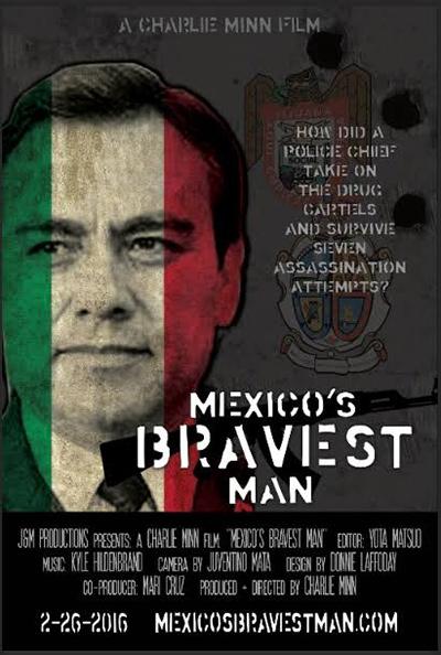"""Poster de """"Mexico's Bravest Man"""""""