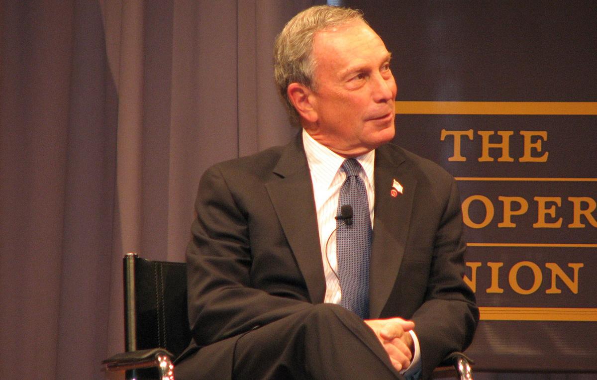 Michael Bloomberg, empresario y ex alcalde de Nueva York.