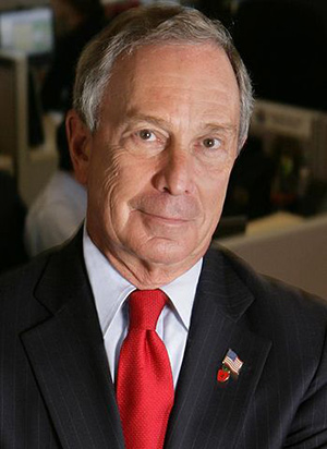 Michael Bloomberg...