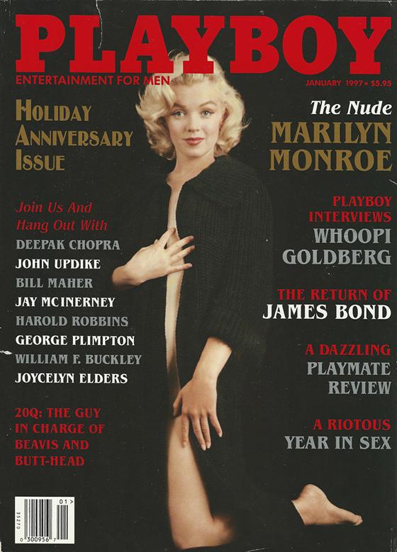 Edición de Aniversario de Playboy en 1997.