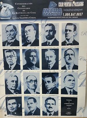 Presidentes de Cuba entre 1902 y 1952