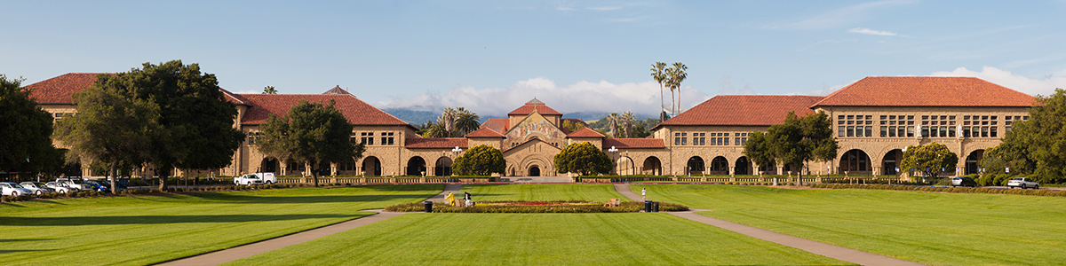 Universidad de Stanford, situada en California.