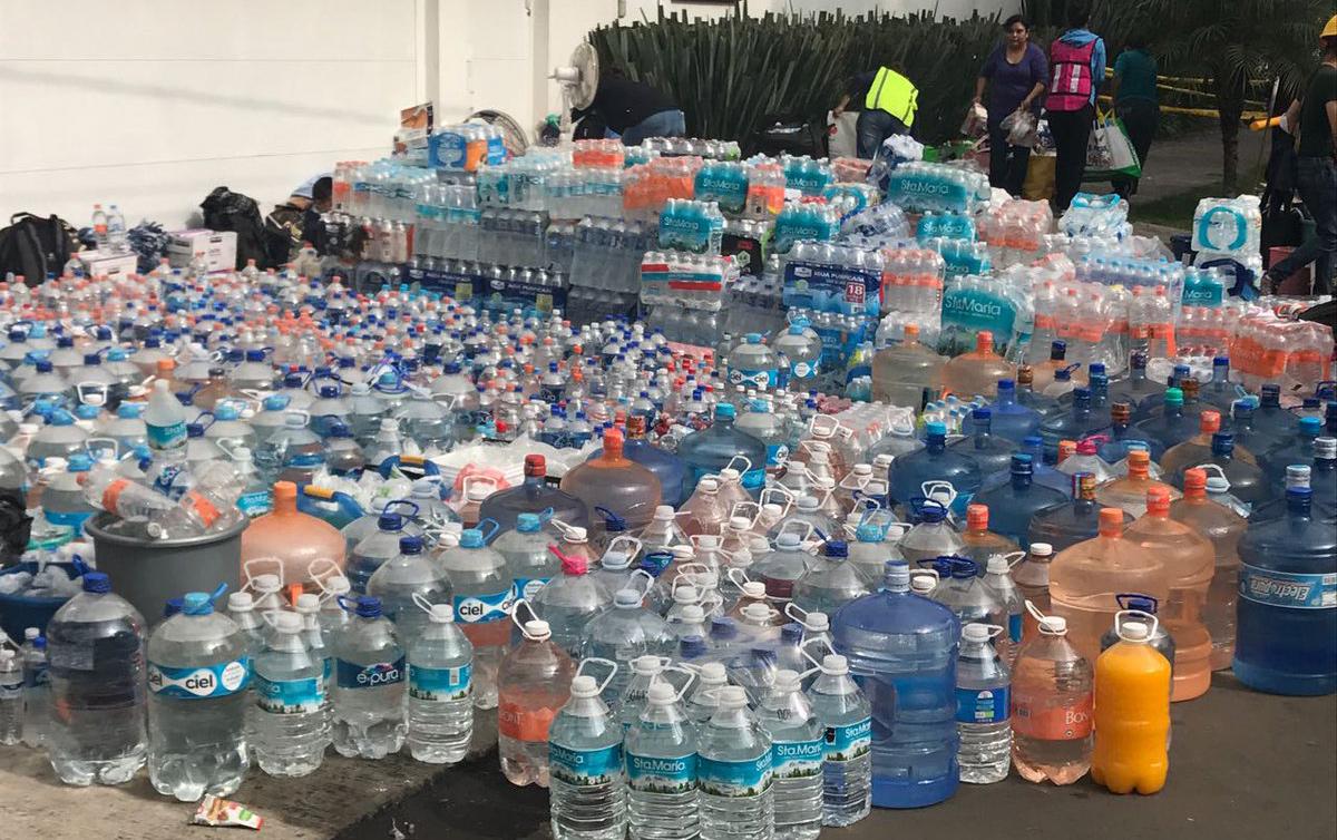 Donaciones para la ayuda humanitaria a México...