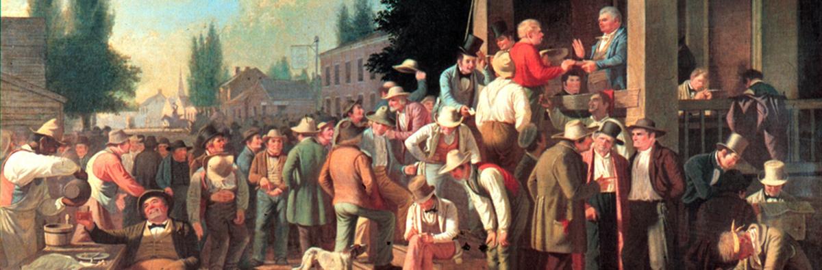 The County Election, pintura de 1846.