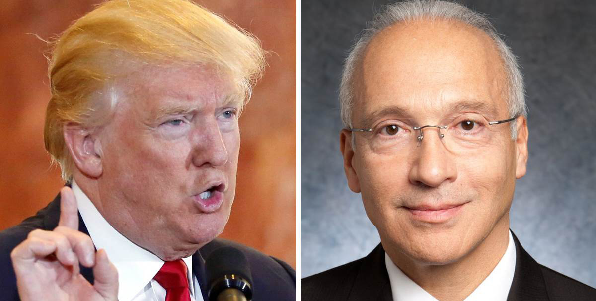 Donald Trum y el Juez Gonzalo P, Curiel