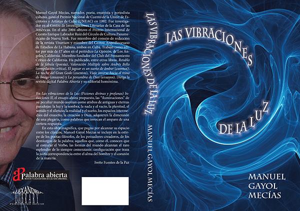 """Portada y contraportada de """"Las vibraciones..."""""""