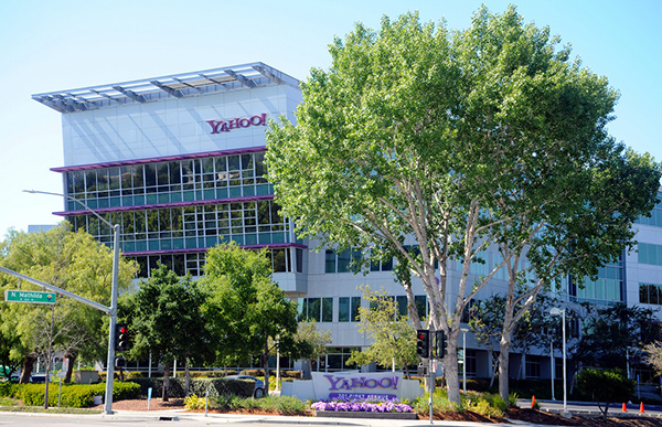 Sede de Yahoo en Silicon Valley.